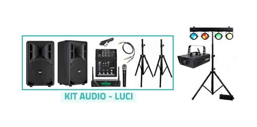 KIT AUDIO-LUCI