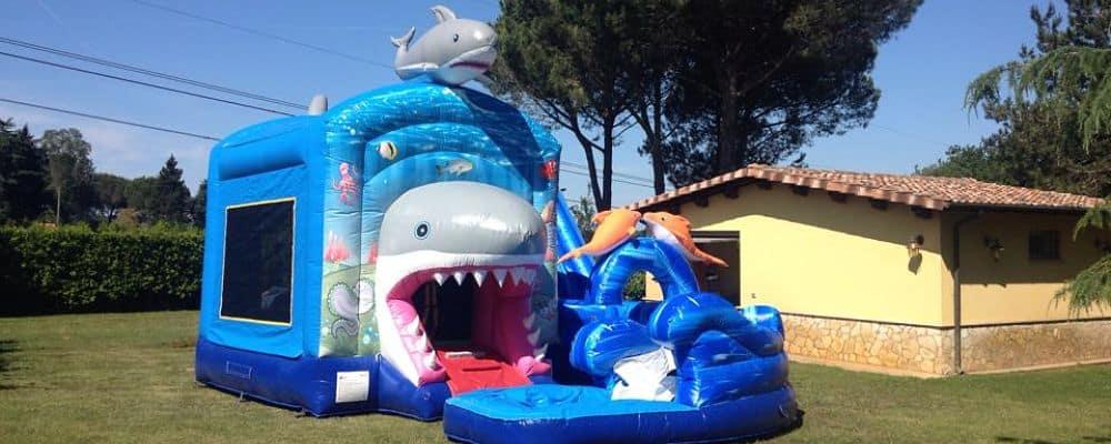 gonfiabile acquatico shark attack