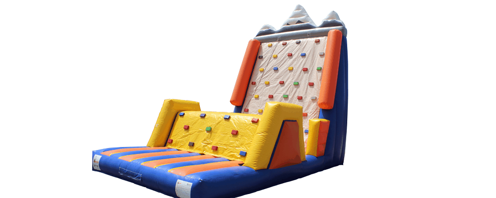 gonfiabile sportivo arrampicata