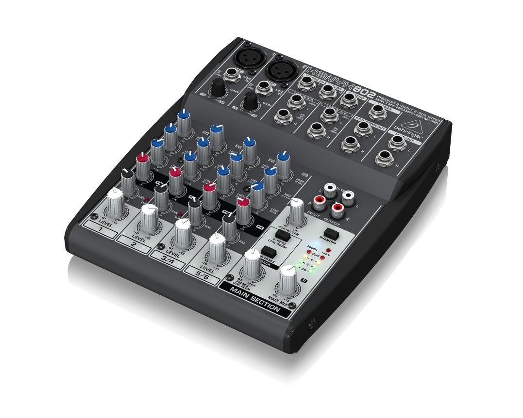 mixer 4 canali