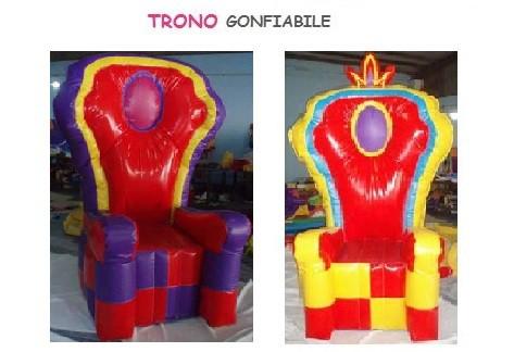 due troni gonfiabili