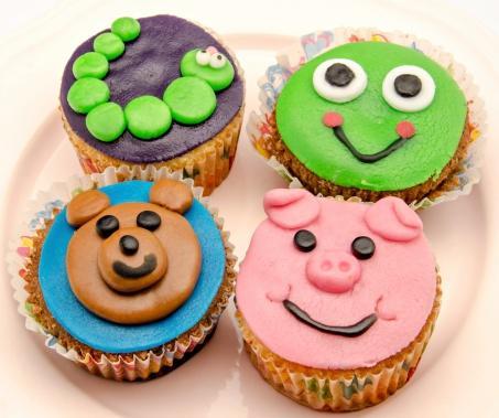 cupcakes per compleanno bambini