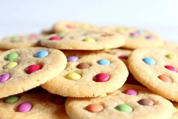 biscotti arlecchino ricette per bambini