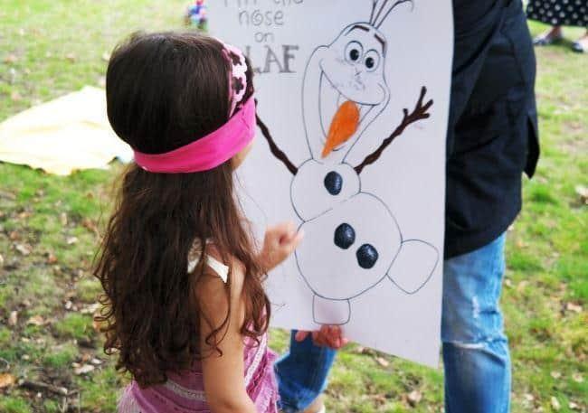 giochi di animazione per festa a tema frozen