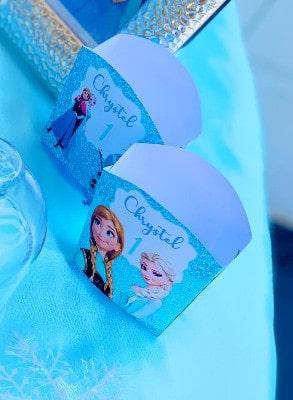 Porta pop-corn a tema Frozen
