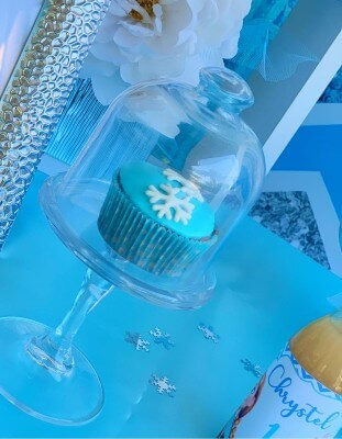 Muffin a tema Frozen