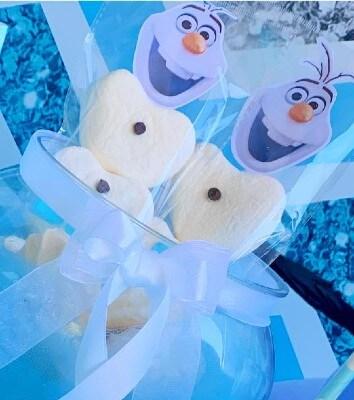 Spiedini di Olaf Frozen