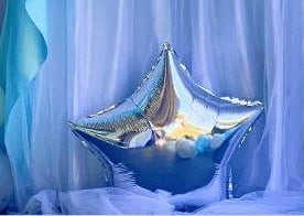 Palloncino Frozen a stella