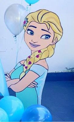 Sagoma di Elsa