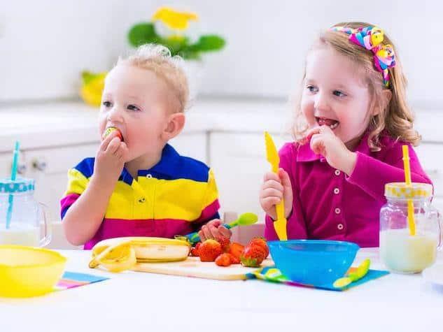 merenda salutare per bambini