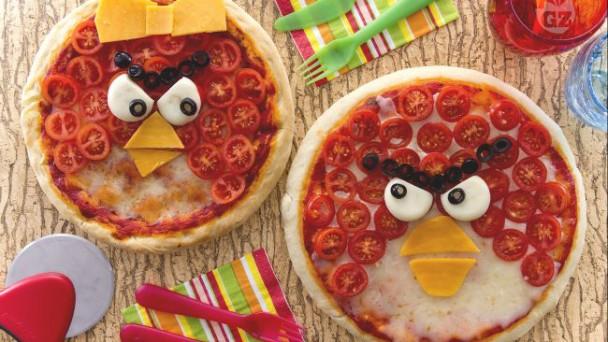 PIZZA MUFFIN PER LA FESTA DI COMPLEANNO!