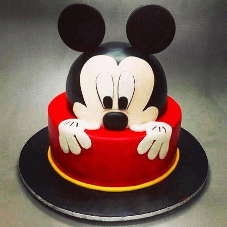 La torta di Topolino.