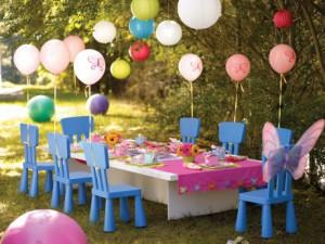 feste per bambini all'aperto