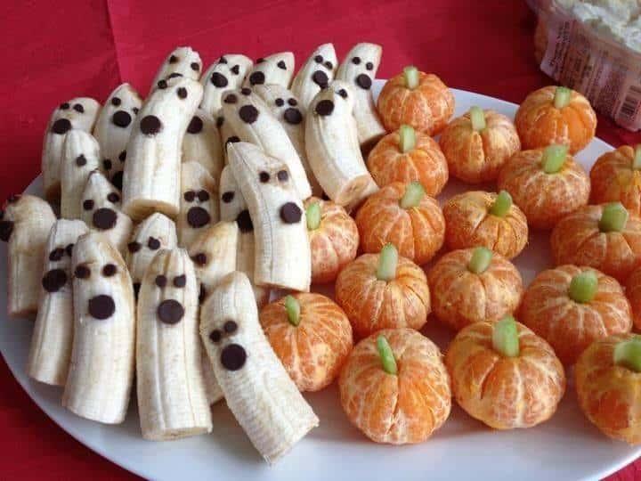 frutta a tema halloween