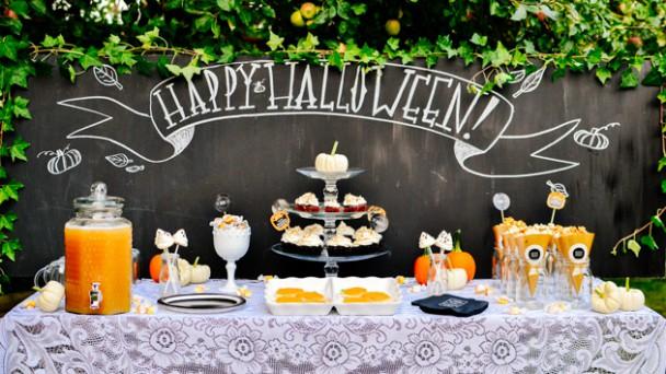 Come fare un buffet per bambini a tema Halloween