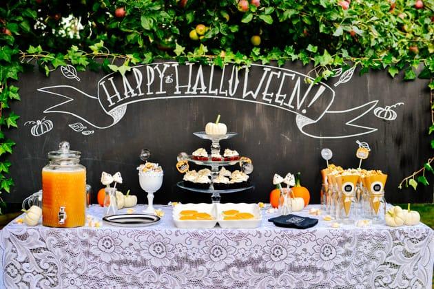 Decorazioni Buffet Fai Da Te : Come fare un buffet per bambini a tema halloween