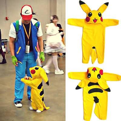 Papà Ash e Pikachu