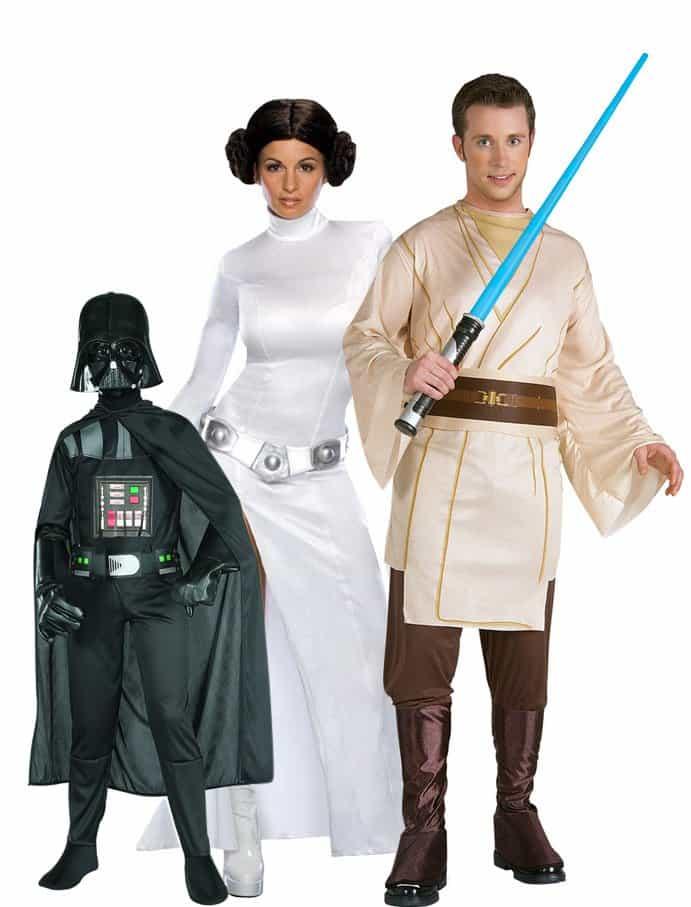 Famiglia Star Wars