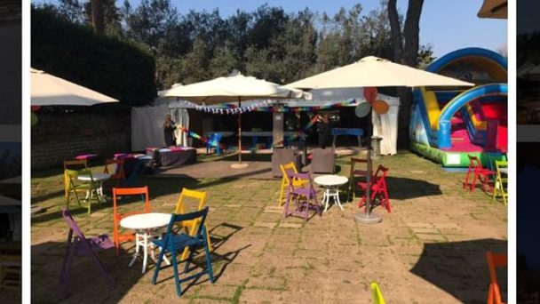 Festa con gonfiabile presso Quo Vadis Sporting Club