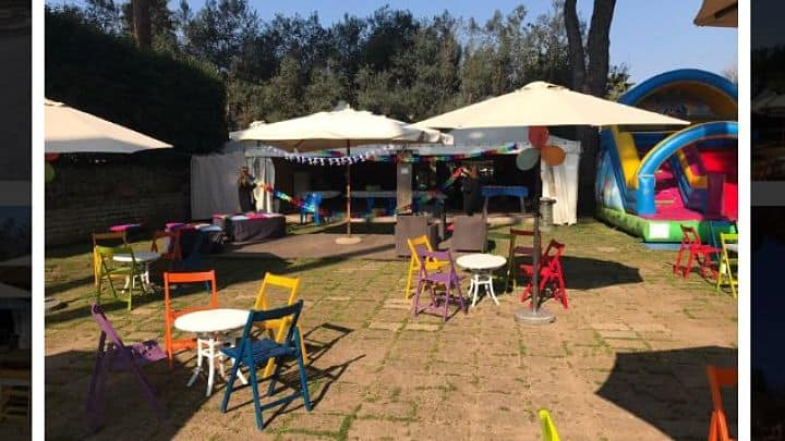 Festa con gonfiabile Quo Vadis Sporting Club