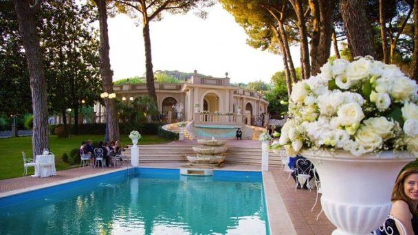 location sala feste castelli romani park hotel villa ferrara
