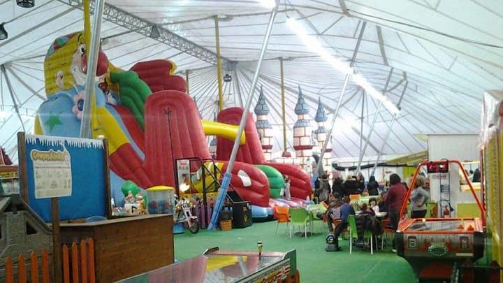 location sala feste latina gommalandia