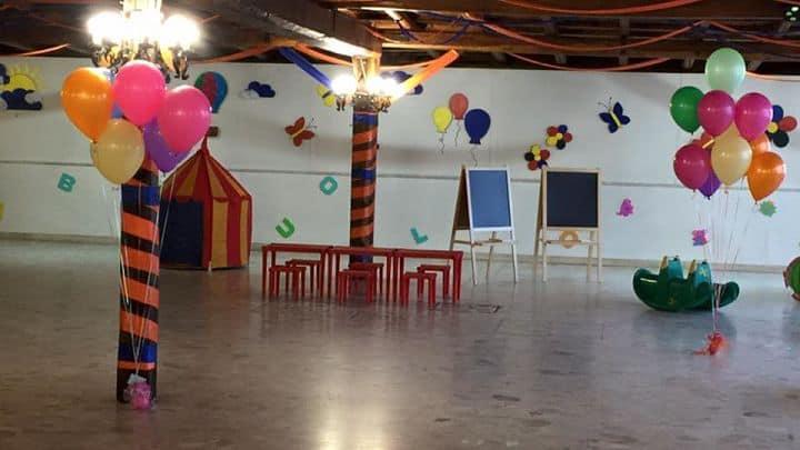 location sala feste latina il pagliaccio