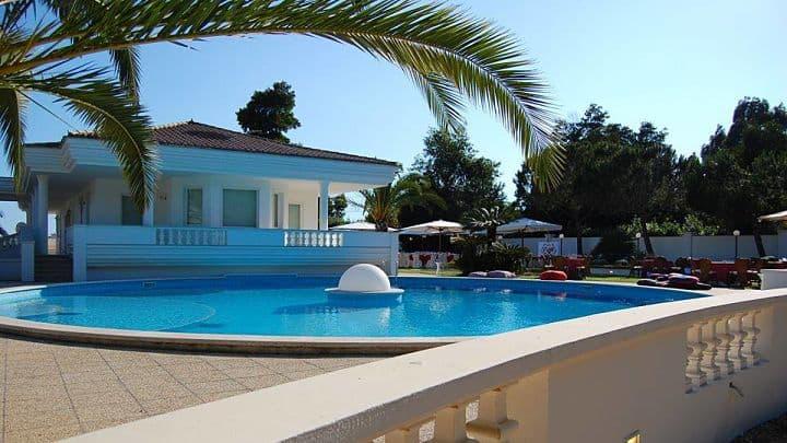 location sala feste latina villa blanche