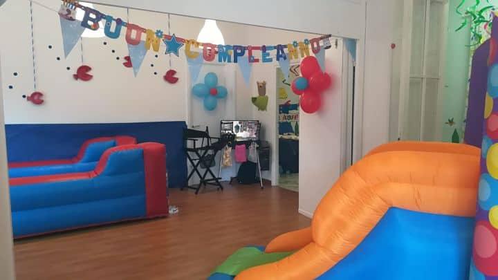 location sala feste roma centro asilo nido scarabocchiando gonfiabili