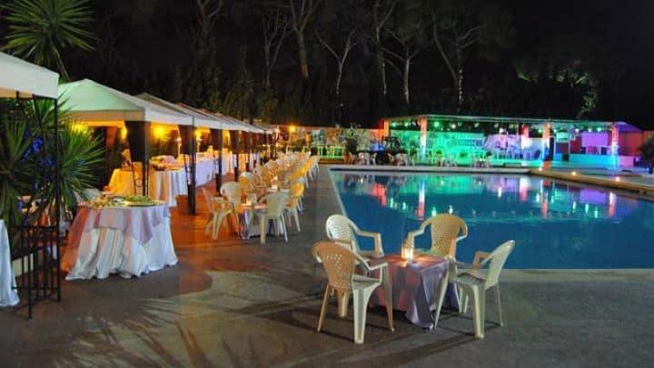 location sala feste roma est appio claudio tennis club