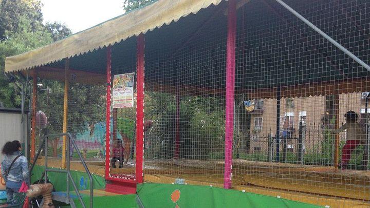location sala feste roma est cartoon park tappeti elastici