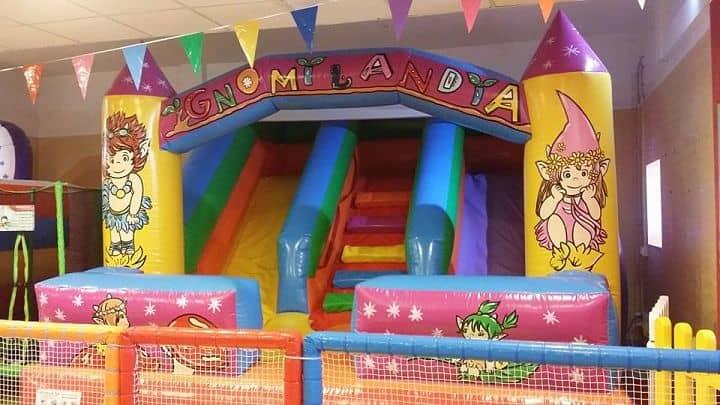 location sala feste roma est gnomilandia gonfiabile