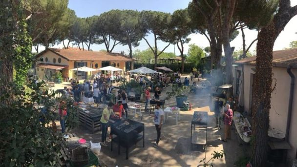 location sala feste roma est i pinispettinati piazzale