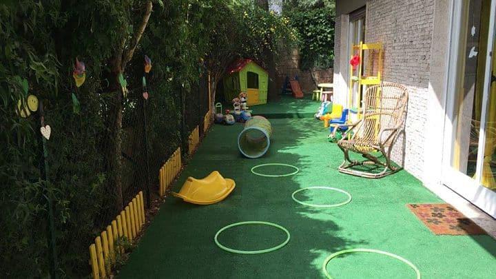 location sala feste roma nord asilo nido bee happy giardino