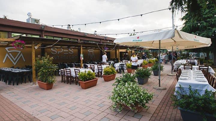 location sala feste roma nord ristorante spes esterno