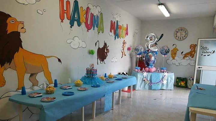 location sala feste roma ovest hakuna matata