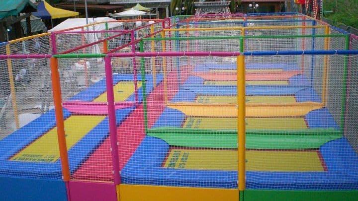 location sala feste roma ovest parco morelli tappeti elastici