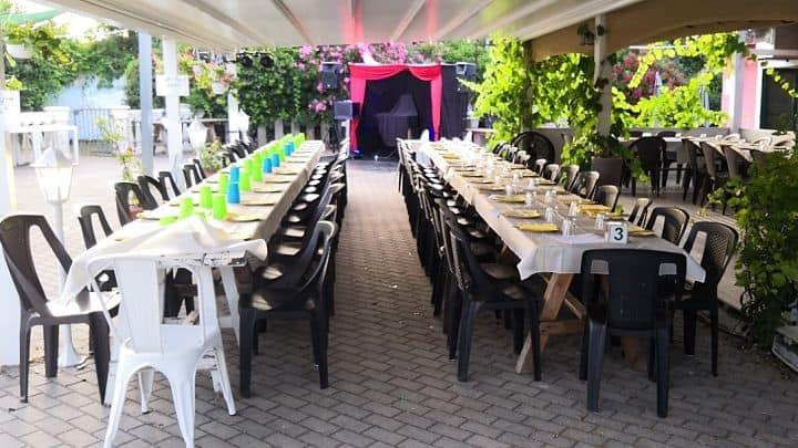 location sala feste roma roma sud Ristorante Biologico festa Esterna
