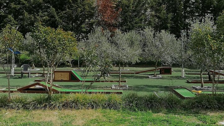 location sala feste roma roma sud Ristorante Biologico Mini golf