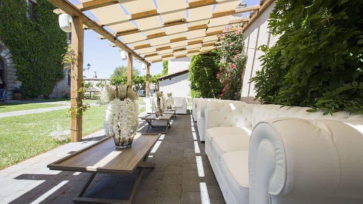 location sala feste roma sud casale 500 corte interna
