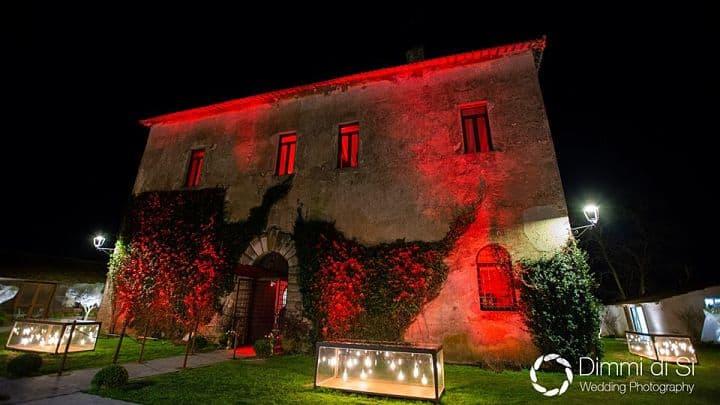 location sala feste roma sud casale 500 esterno