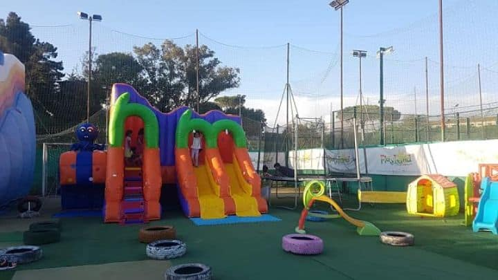 location sala feste roma sud play land esterno