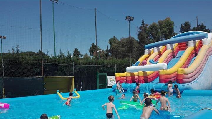 location sala feste roma sud play land parco acquatico