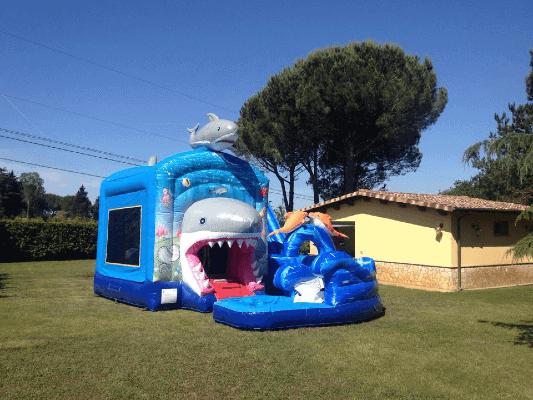 Gonfiabile Shark Attack