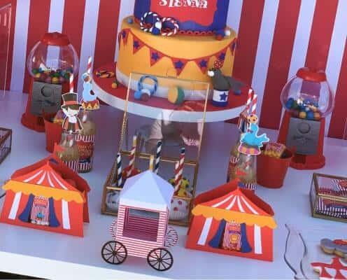 Decorazioni da tavolo Festa a tema Circo