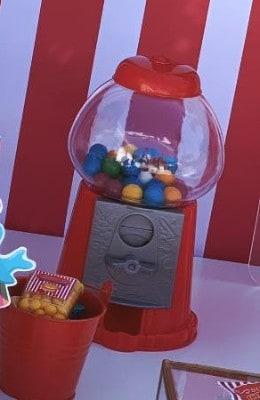 Mini-distributore di dolci.