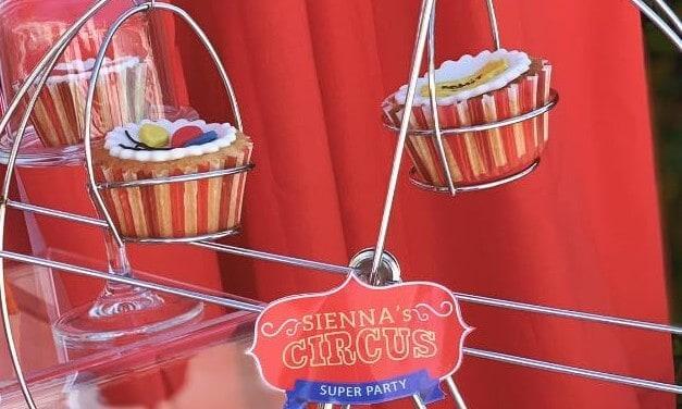 Muffin per la tua festa a tema circo.