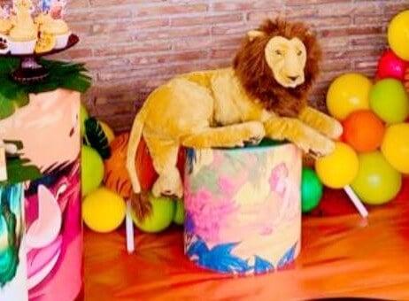 Peluche del Re Leone per la tua festa a tema.