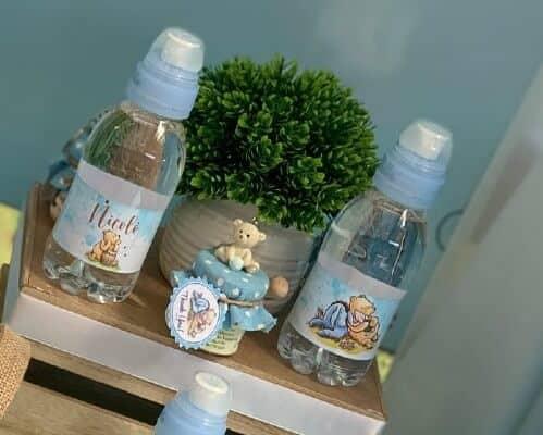 Bottigliette di acqua a tema Winnie the Pooh