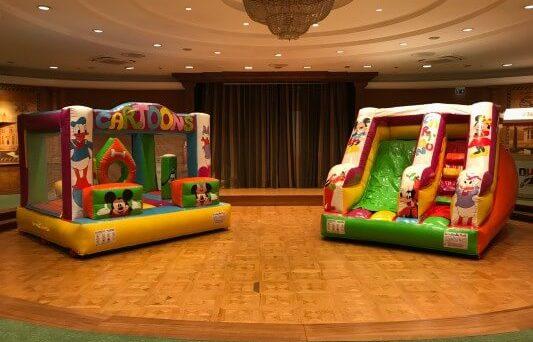 Ecco i nostri gonfiabili da interno utilizzati per il Rome Cavalieri – Waldorf Astoria Hotel